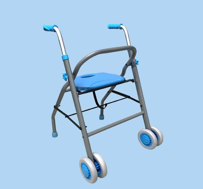 Wypożyczalnia łóżek dla chorych - podpórka rehabilitacyjna dwukołowa DELUXE