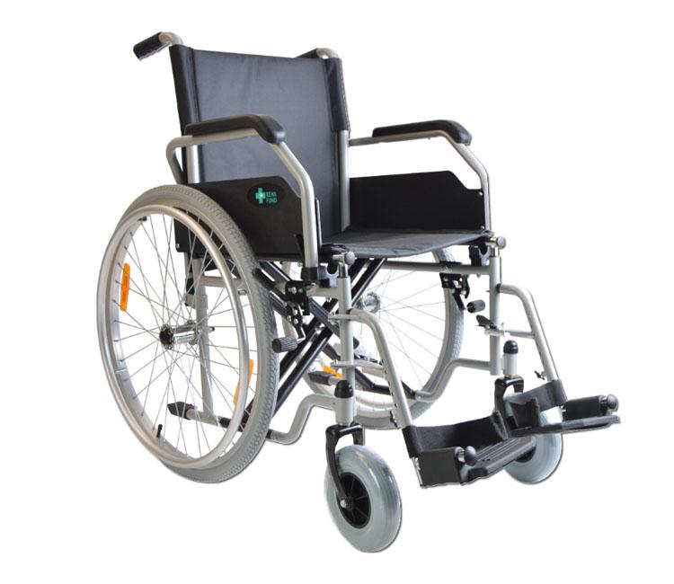 Łóżka dla chorych - wózek inwalidzki stalowy Reha Fund Cruiser 1