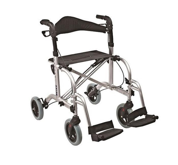 Łóżka rehabilitacyjne - chodzik aluminiowy czterokołowy ANTAR
