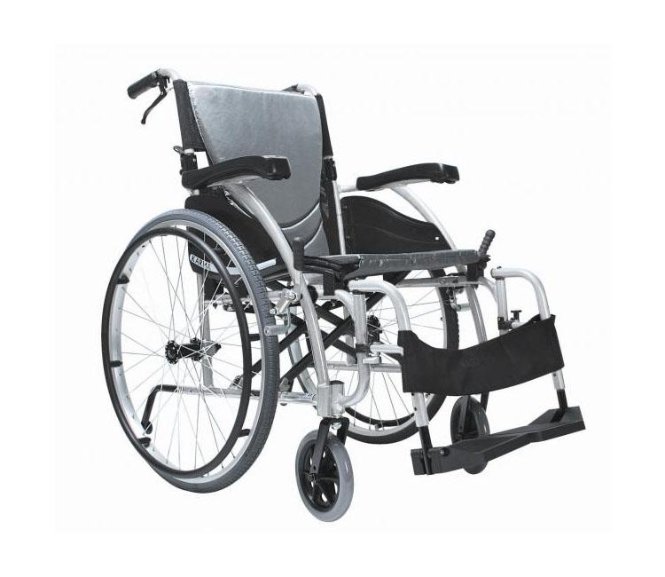 Łóżka rehabilitacyjne - wózek inwalidzki aluminiowy Karma